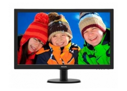 Монитор Philips 27″ 273V5LHSB (00/01) черный TN+film LED 5ms 16:9 HDMI матовая 300cd 1920x1080 D-Sub FHD 4.53кг