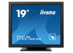 Монитор Iiyama 19″ T1931SR-B5 черный TN LED 5ms 5:4 HDMI M/M матовая 1000:1 250cd 170гр/160гр 1280x1024 D-Sub DisplayPort HD READY Touch 6.6кг