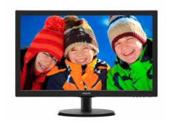 Монитор Philips 21.5″ 223V5LSB2 (10/62) черный TN+film LED 5ms 16:9 матовая 10000000:1 200cd 1920x1080 D-Sub 2.61кг