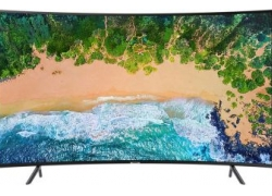 Телевизор LED Samsung 65″ UE65NU7300UXRU черный/CURVED/Ultra HD/1400Hz/DVB-T2/DVB-C/DVB-S2/USB/WiFi/Smart TV (RUS)