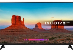Телевизор LED LG 60″ 60UK6200PLA черный/коричневый/Ultra HD/200Hz/DVB-T2/DVB-C/DVB-S2/USB/WiFi/Smart TV (RUS)