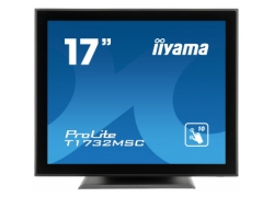 Монитор Iiyama 17″ T1732MSC-B5X черный TN LED 5ms 5:4 HDMI M/M матовая 1000:1 250cd 160гр/160гр 1280x1024 D-Sub DisplayPort HD READY USB Touch 5.8кг