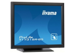 Монитор Iiyama 17″ T1731SR-B5 черный TN LED 5ms 5:4 HDMI матовая 250cd 170гр/160гр 1280x1024 D-Sub DisplayPort HD READY Touch 5.8кг